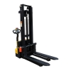 Full Electric Stacker with Adjustable Forks Front